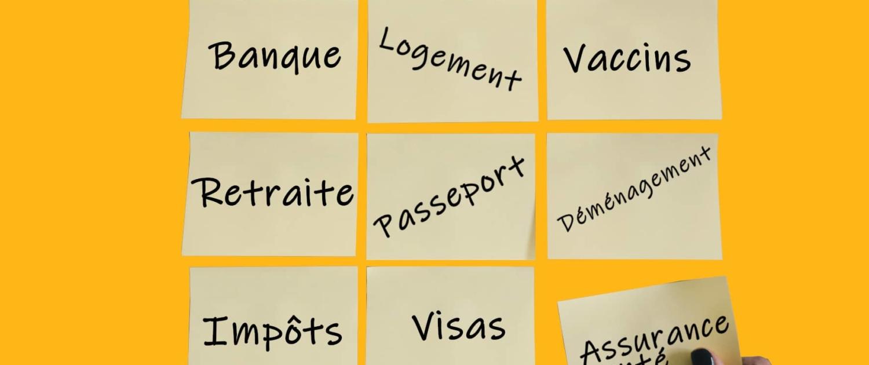 Check List Expatriation